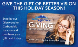 Give the Gift of Better Vision with a Gift Card