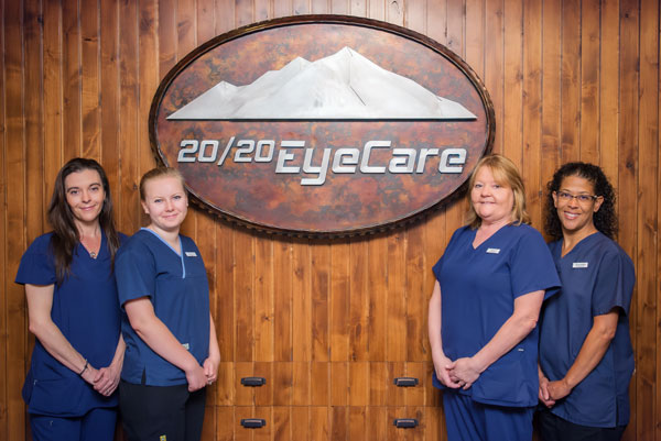 2020 Eye Care Glenwood Springs Front Desk Staff
